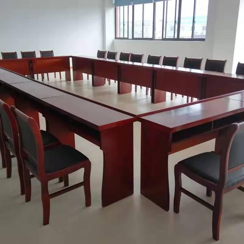 实木陕西会议桌