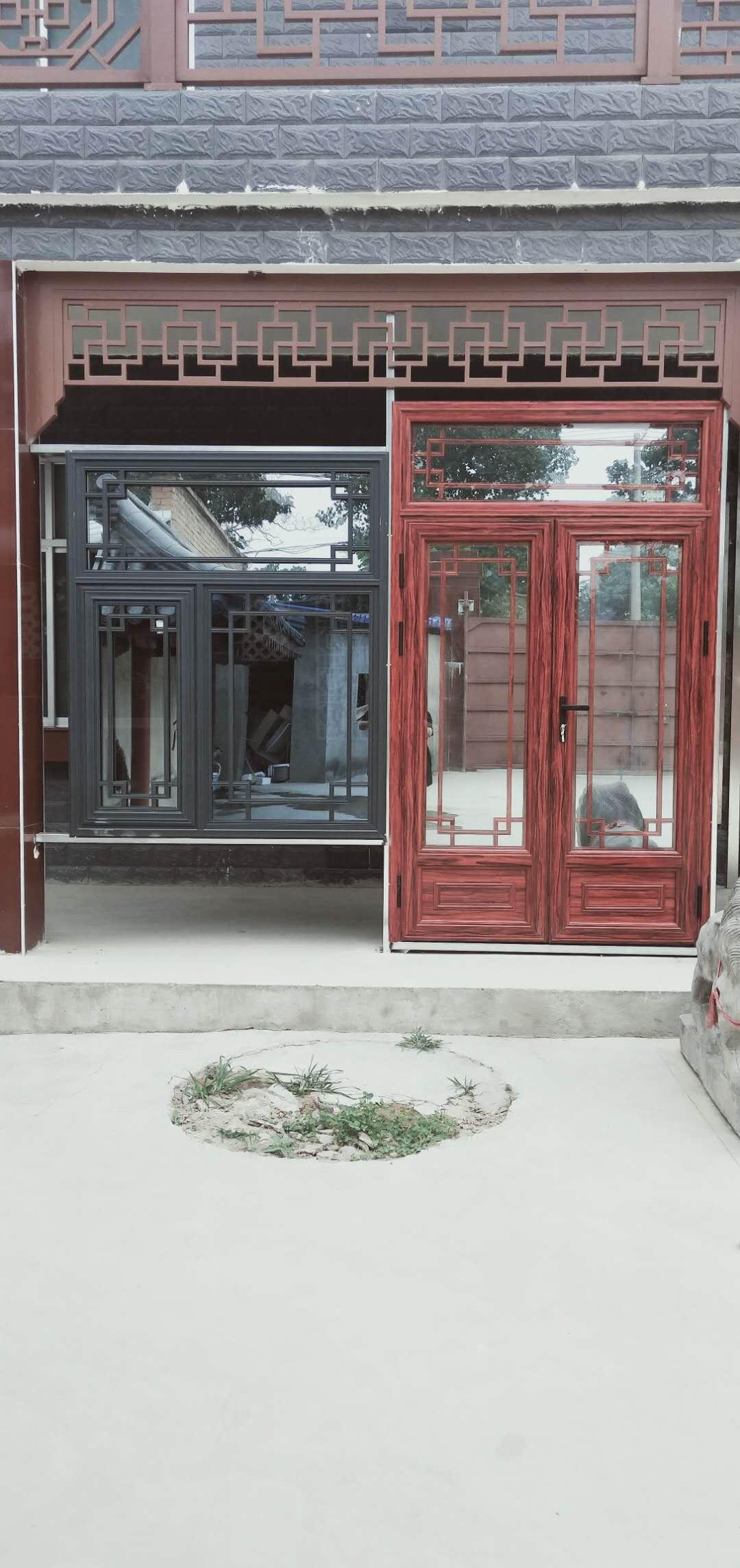 金属仿古门窗