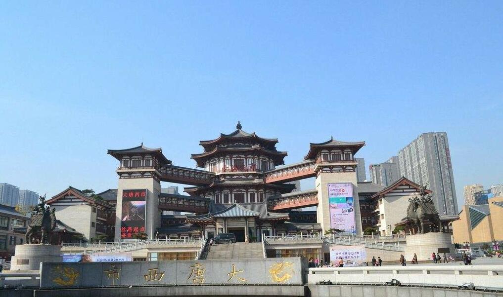 陕西电缆桥架案例之大唐西市项目