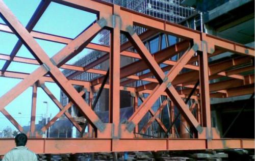 結構工程知識點:預應力加固鋼結構方案及施工工藝