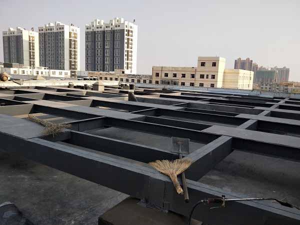 浦發鋼結構公司與臨河市醫院合作