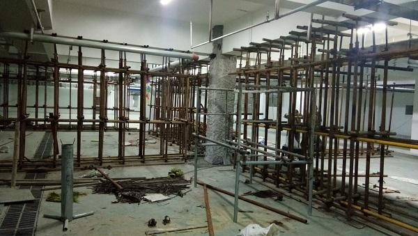 内蒙古加固公司与伊旗地下室合作