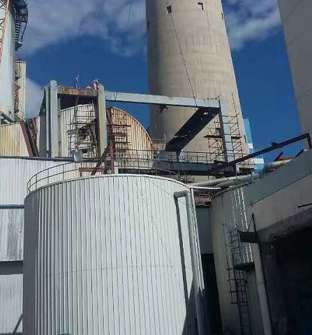 呼和浩特浦发钢结构与临河热电厂合作