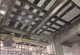 浦发钢结构与乌海市某酒店装修改造项目