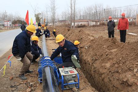 农村安全饮水工程