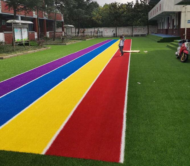 陕西幼儿园草坪设计案例