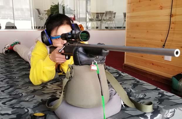 大口径狙击步枪精度射击