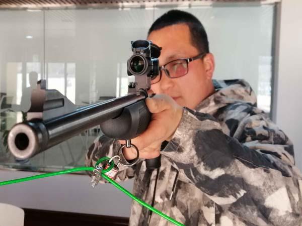 小口径狙击步枪射击体验