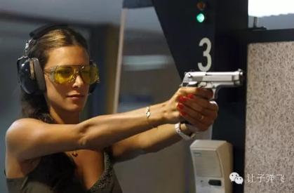 手枪极速射击的握枪与射击姿势