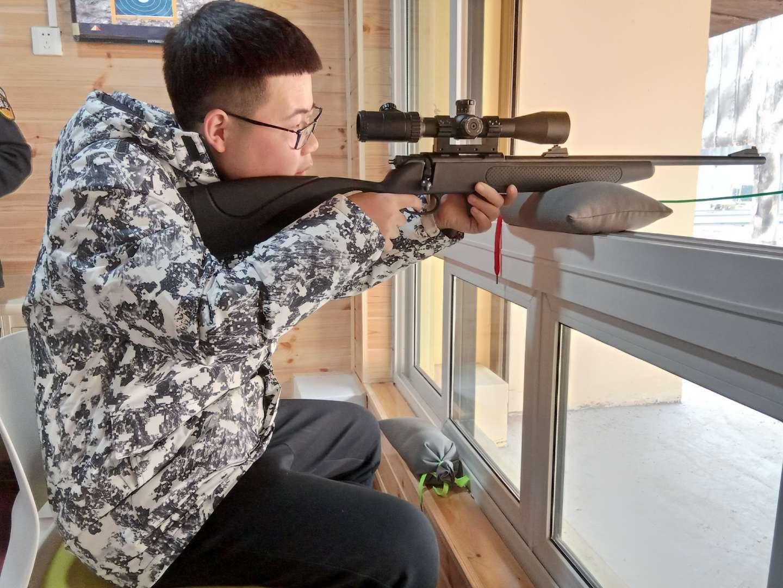 陕西射击场练习