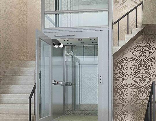 别墅家用无机房电梯,好看又好用还不占地方