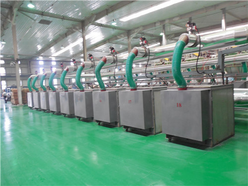 蒸汽换热/燃气加热型Ⅱ级干燥设备