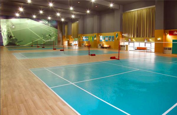 PVC橡胶地板系统