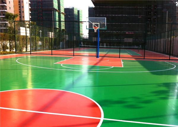 武汉球场跑道—硅pu弹性球场优点