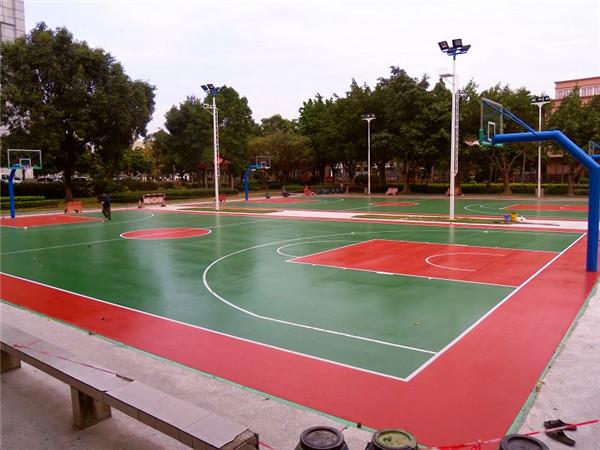 武汉球场跑道—硅pu弹性球场