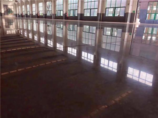 工厂混凝土密封固化剂施工案例展示