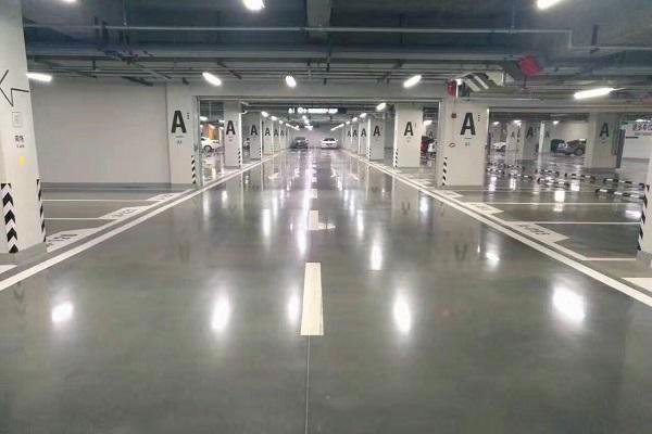 地下停车场环氧地坪施工案例