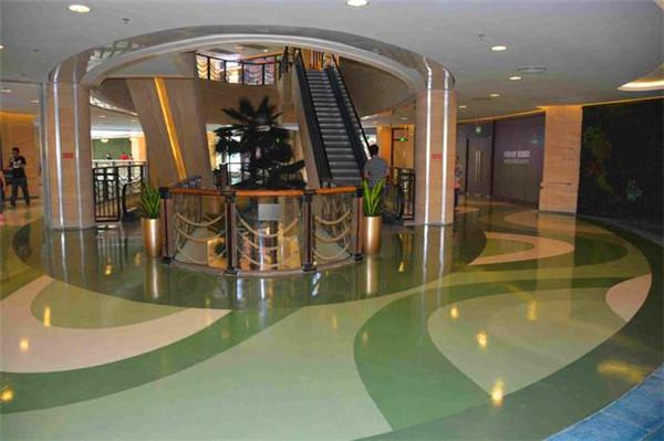 武汉混凝土密封固化剂—商场案例