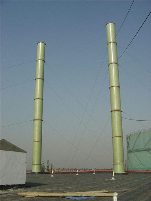 湖北玻璃钢烟囱工程