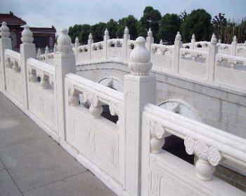 户外石雕护栏