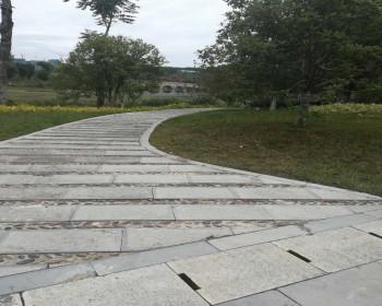 公园青石板