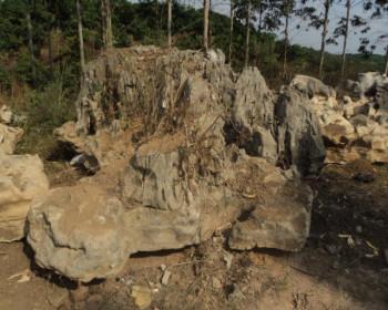 自然景观石在摆放时要注意的地方