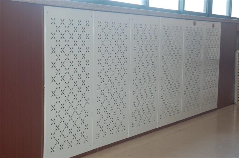 墙暖金属烤漆散热板