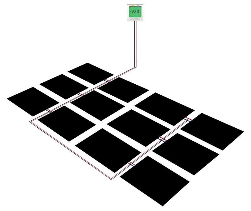 新疆硅晶墙暖发热板