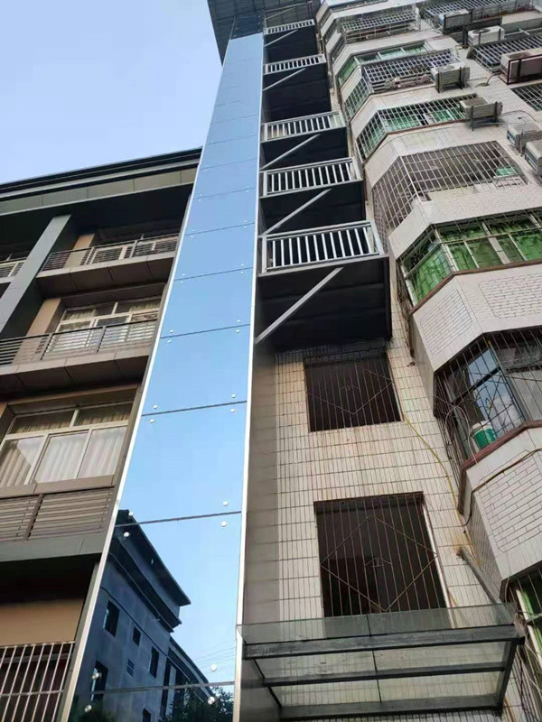 舊樓加裝電梯完工展示