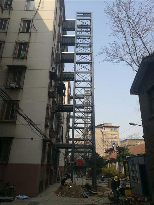 南阳金越旧楼加装电梯