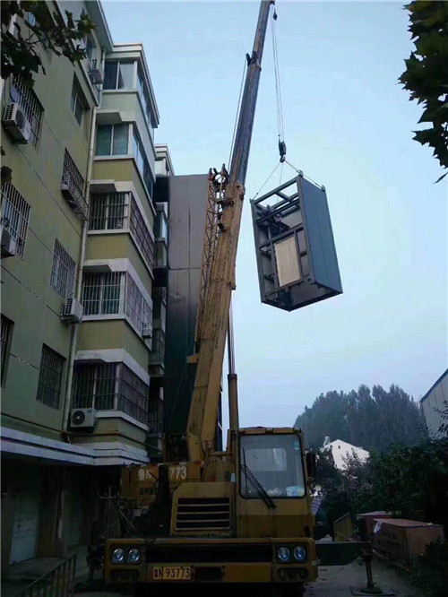 南阳旧楼加装电梯维修