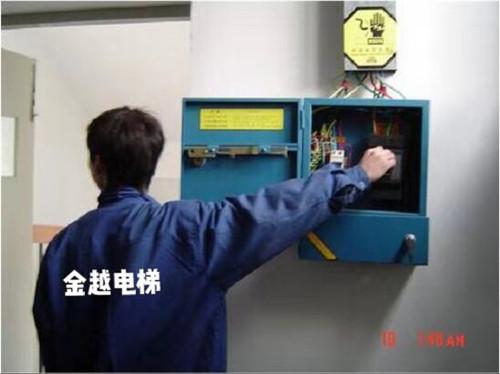 南阳电梯公司的维修人员