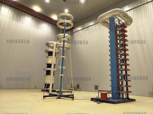 HLGP-KP型開關柜高壓屏蔽局放實驗室