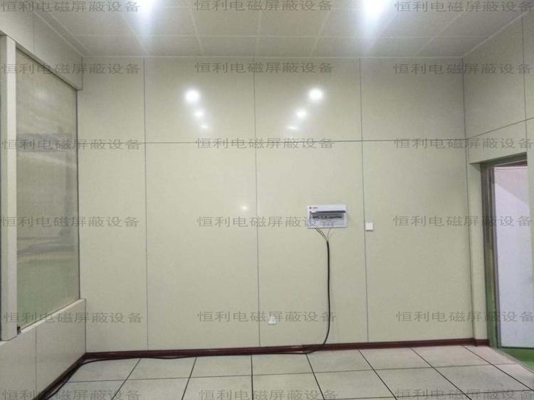 高壓局放室