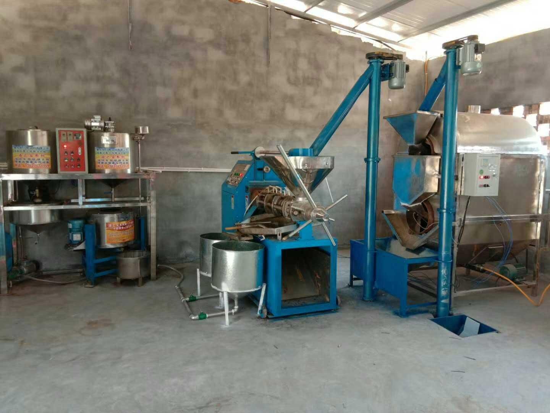 中江县榨油机工程案例