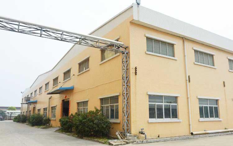 四川碾米机厂区环境
