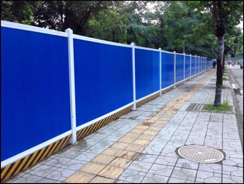 四川市政围栏设计