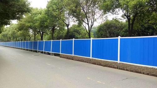 四川施工围栏案例