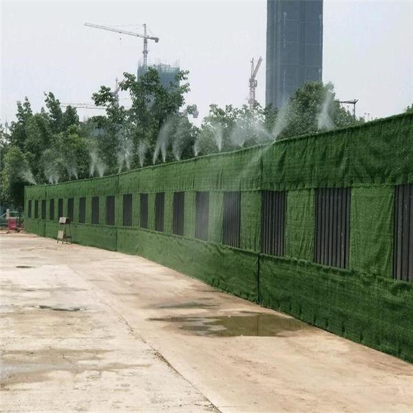 工地施工围栏安装效果图
