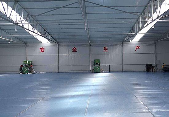 西安添彩空间膜技术公司厂房