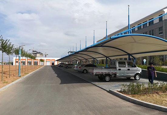 西安厂区膜结构车棚