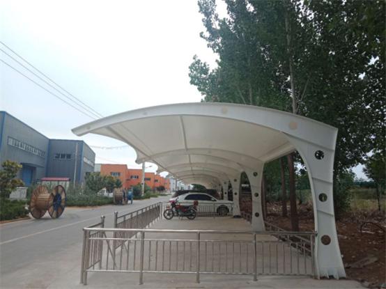 武功县中小企业孵化园有限公司膜结构车棚工程