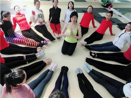圣珈瑜伽教学精彩瞬间
