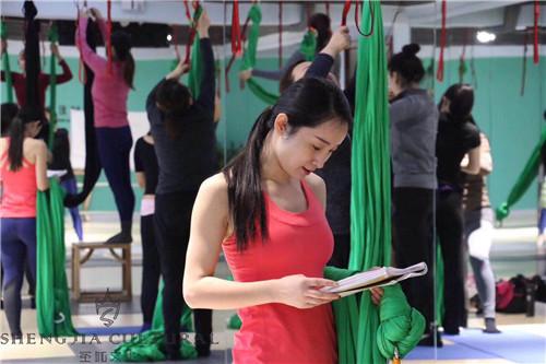 空中瑜伽教学环境