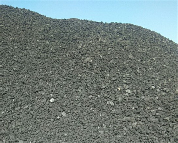 兰炭小料生产