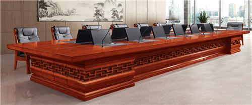 传统油漆陕西会议桌001