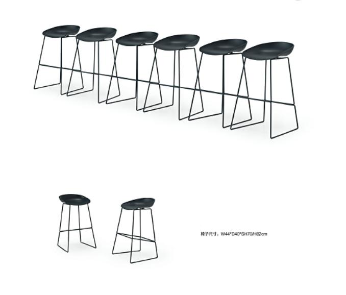 洽谈吧椅001