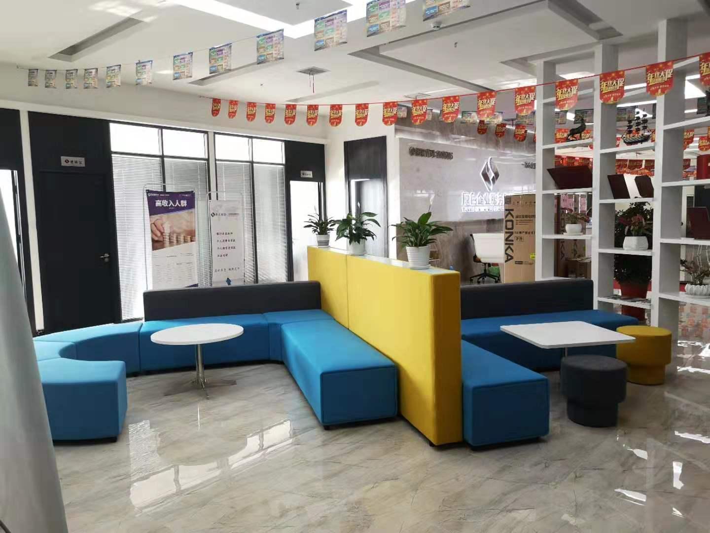 茶几椅子展厅展示