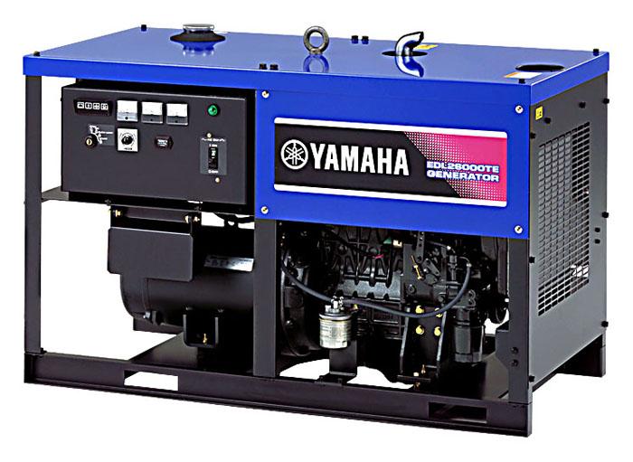 西安雅马哈发电机组EDL26000TE