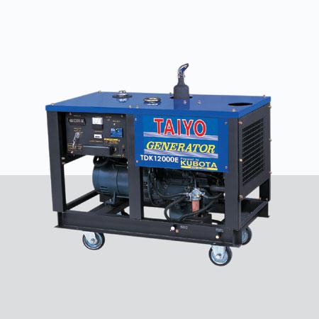 陕西柴汽油发电机TDK12000E